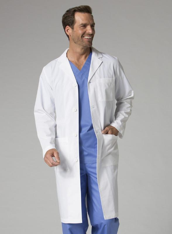coats-7256-Men's Long Lab Coat-maevn