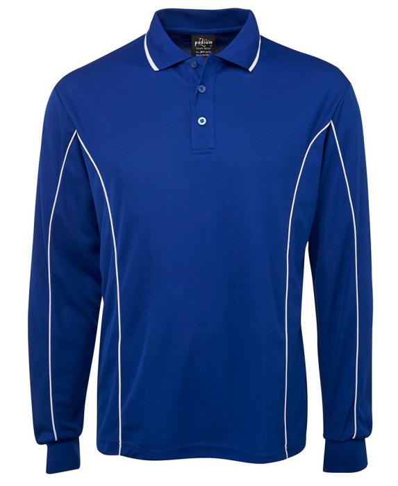 Piping Polo Long Sleeve