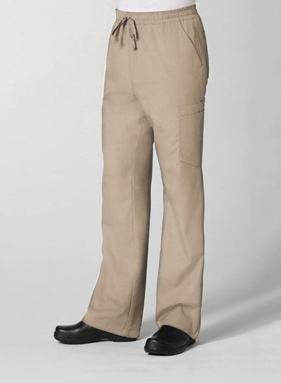 Red Panda Men's Full Elastic 10-Pocket Cargo Scrub Pant