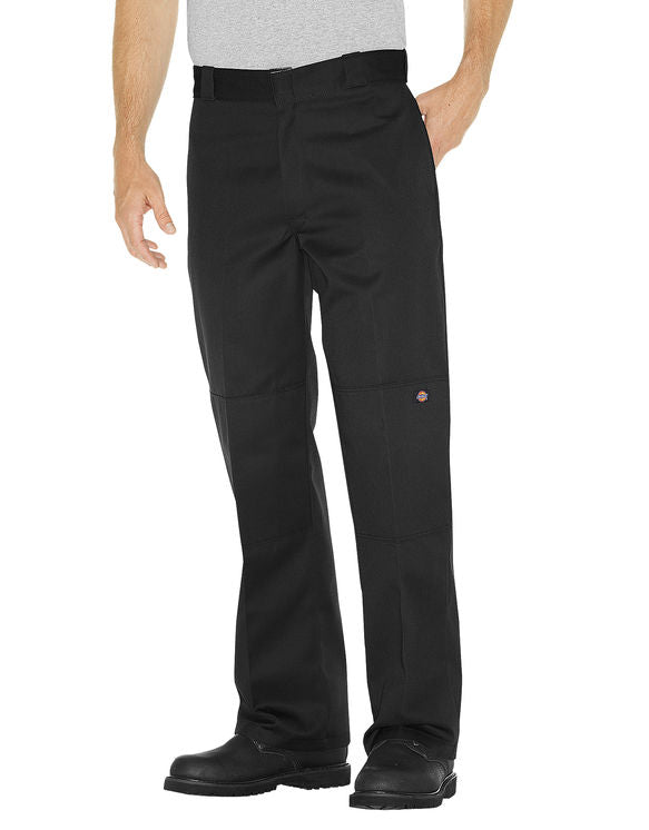 Loose Fit Double Knee Work Pants