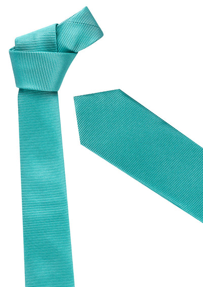 Mens Slim Monotone Design Tie