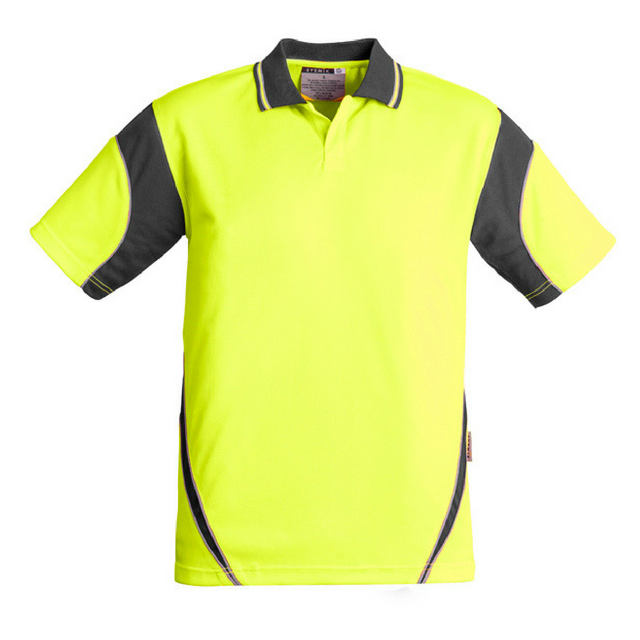 Mens Hi Vis Aztec Polo