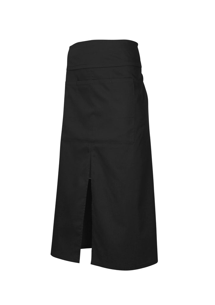 -continental-black-waist-apron-pocket-aprons-nz-cafe-restaurant-ba93