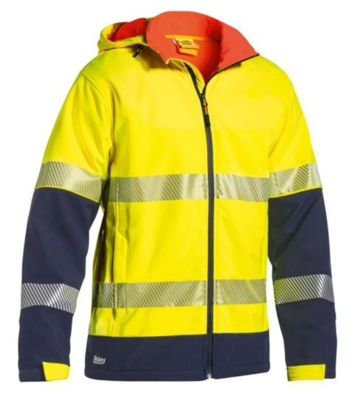 bisley-two-tone-hi-vis-ripstop-softshell-jacket-with-hood-bj6934t