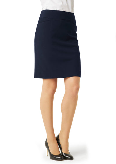 skirts-BS128LS Ladies Classic Knee Length Skirt
