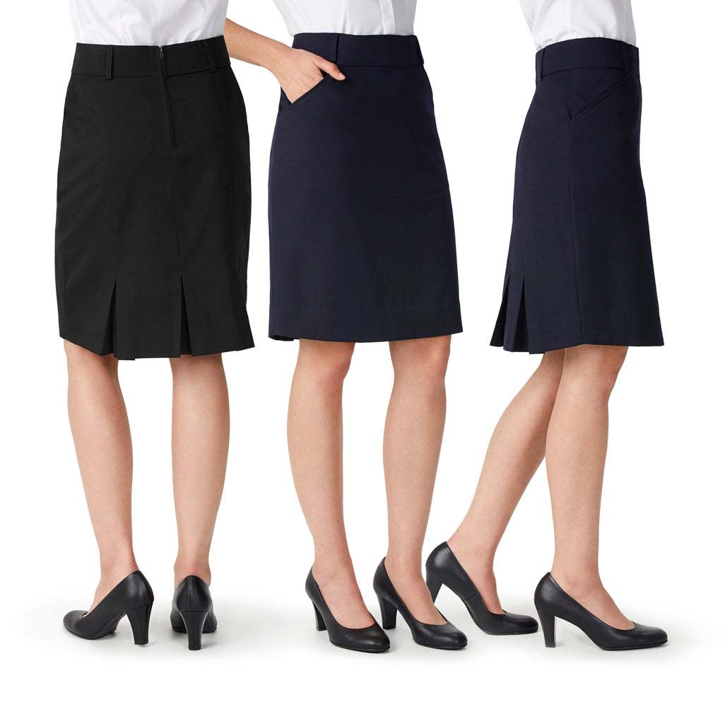 ladies skirts nz Detroit Ladies Flex Band skirt-BS612S Colours: Black, Navy Sizes: 4 - 26