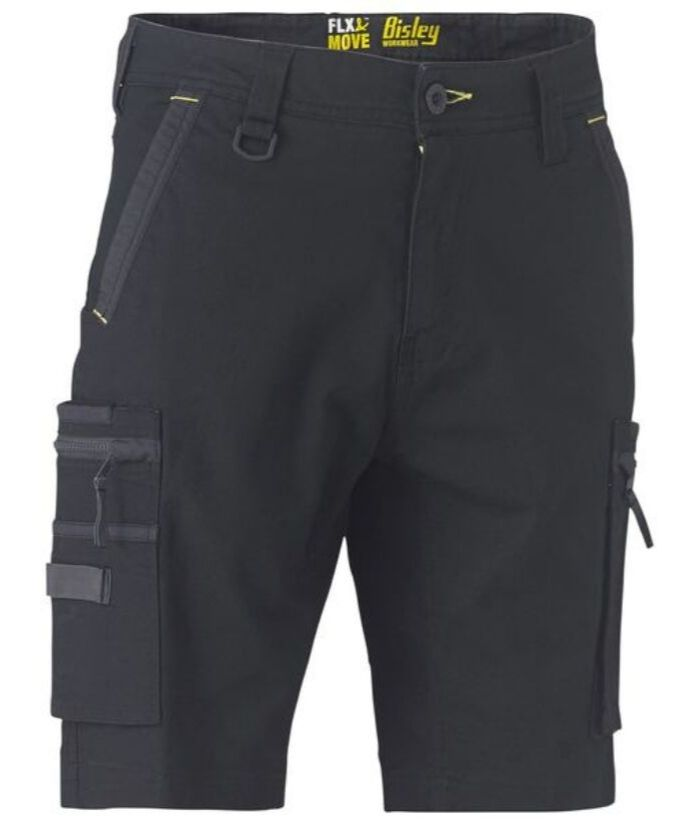 bisley-Flex-&-Move-Stretch-Utility-Zip-Cargo-Short-bshc1330