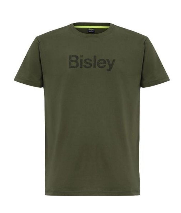 Bisley-cotton-tee-t-shirt-bkt064-marle-army-green-mens