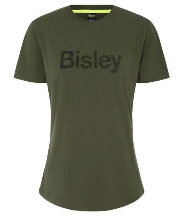 Bisley-cotton-tee-t-shirt-womens-bktl064-navy