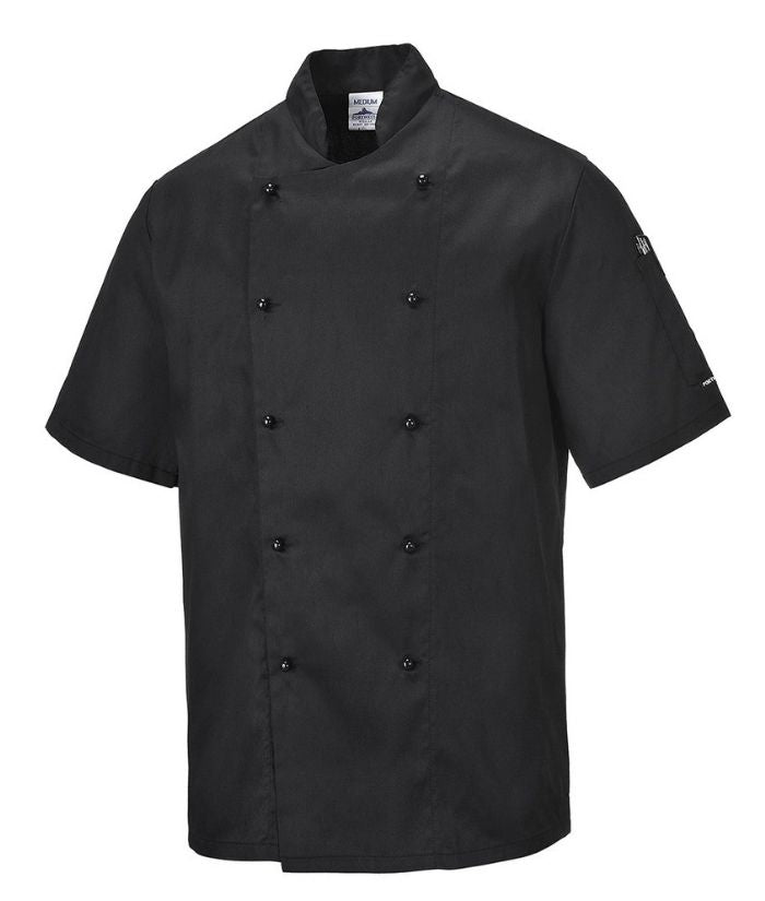 kent-short-sleeve-chefs-jacket-c734-prime-mover-black