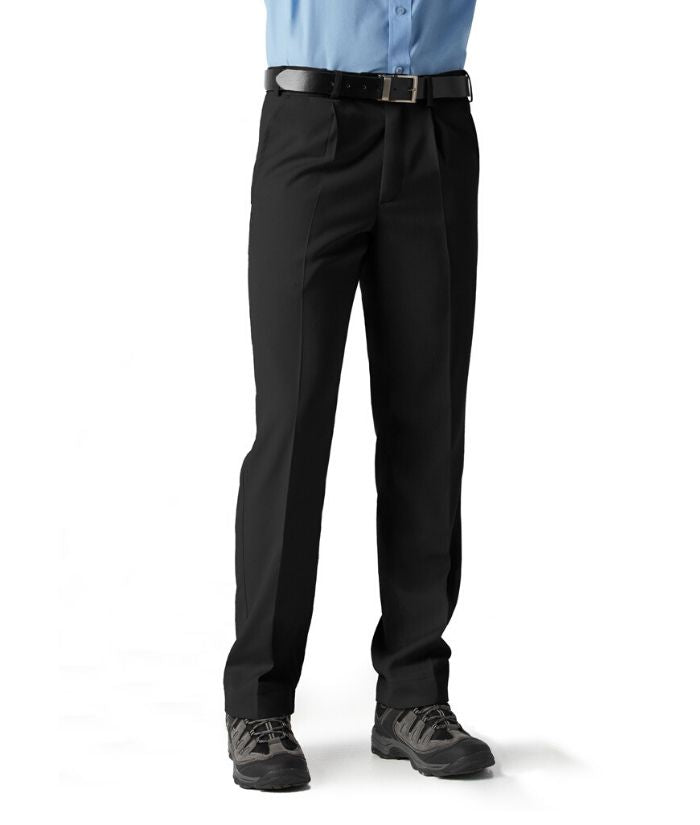 mens pant nz-Detroit Stout Pant. Colours: Black, Navy. Sizes: 92 -132  Code: BS10110S