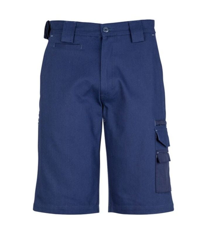 heavy-duty-duckweave-canvas-mens-shorts-builders-uniform-plumbers-electricians-workwear