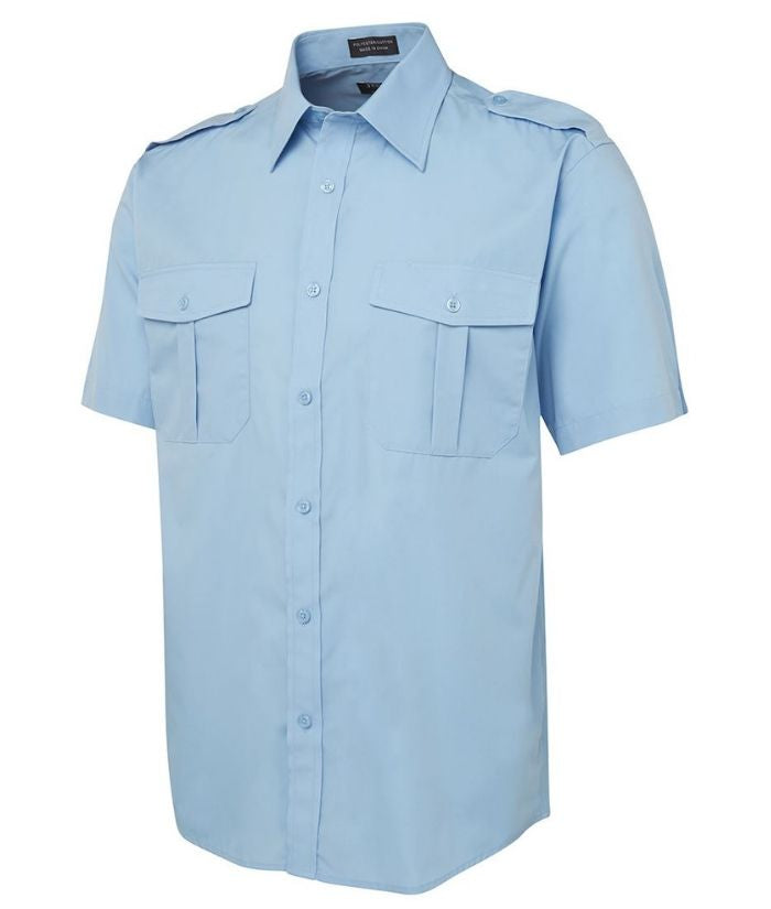 Epaulette Shirt Short Sleeve