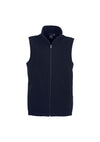 Mens Plain Essential Micro Fleece Vest