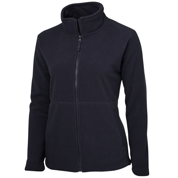 Ladies Full Zip Polar Fleece-3fj1-jb's-wear