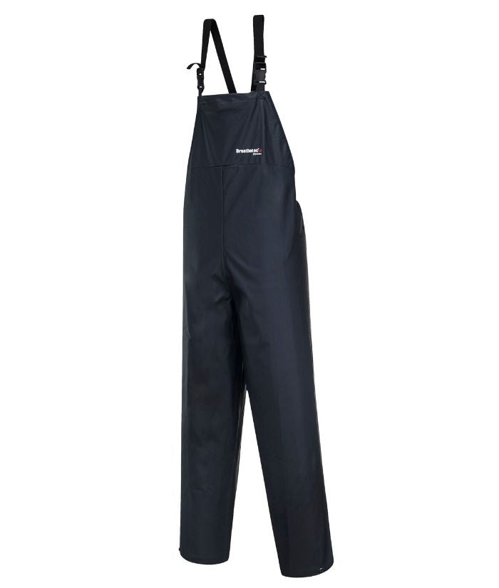 Farmers-waterproof-bib-over-trouser-pants. Farmers-Breathable-waterproof-bib&brace-over-pant Navy