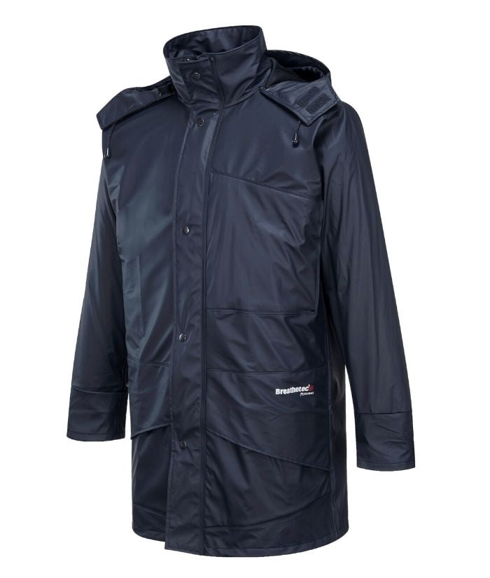 farmers-waterproof-breathable-jacket-navy-forest-green. K8103-Agriculture