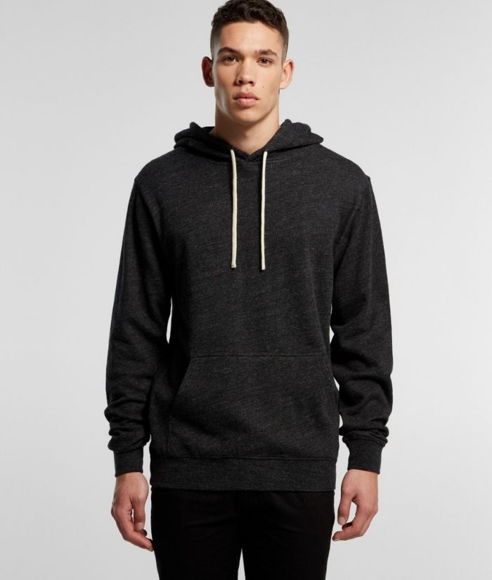 as-colour-pullover-fleck-hoodie-100%-cotton-black