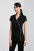Zen Crossover Tunic-h134ls-biz-collection-beauty-therapy-hospitality-tunic-uniform-housekeeper