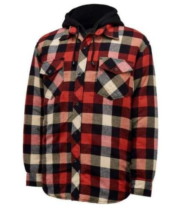 hard-yakka-shirt-hoodie-Y06690-red-check-blue-check-3056-quilted-flannel-jacket