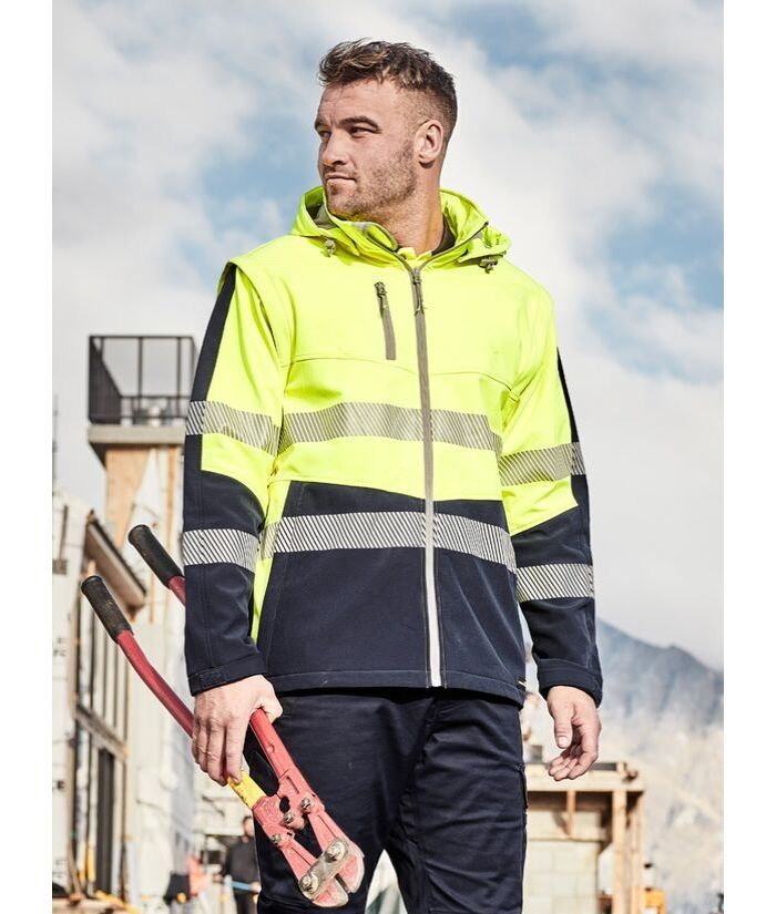 hi-vis-segmented-taped-stretch-soft-shell-jacket-vest-combo-stretch