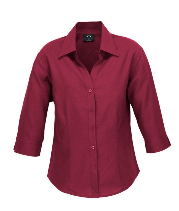 Ladies Plain Oasis 3/4 Sleeve Shirt