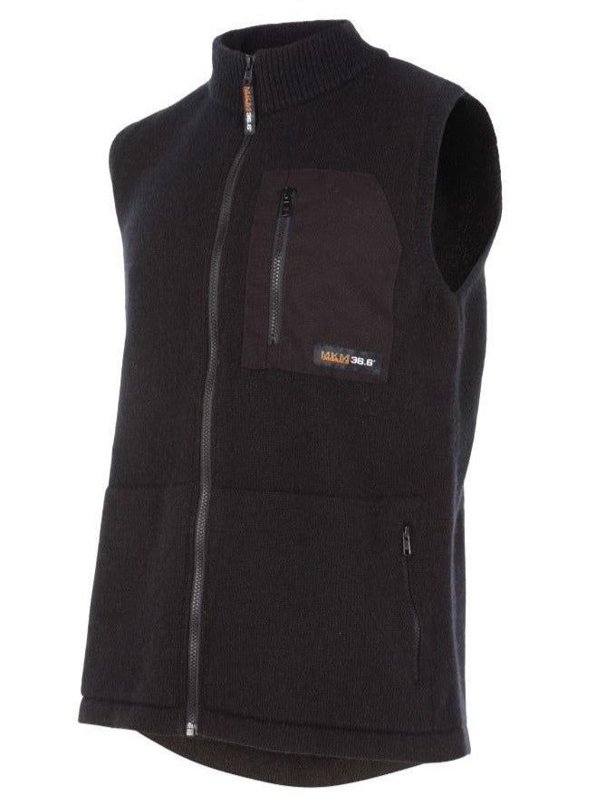MS1732-Endurance-Vest-MKM-Possum-wool-Blend-Black