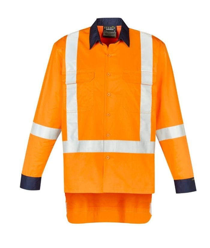 Mens TTMC-W17 X Back Work Shirt