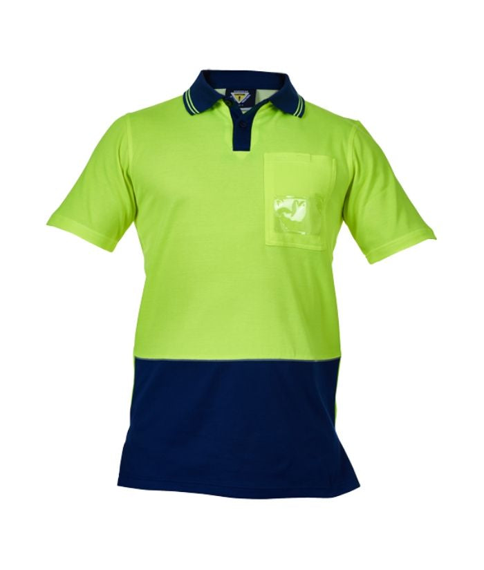 Hi Vis Day Only Cotton Backed Polo