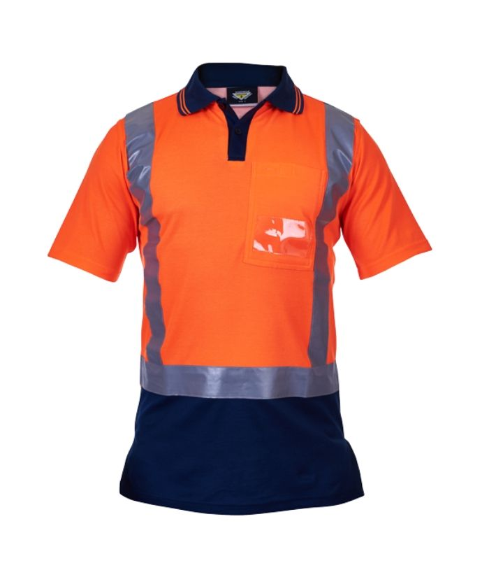 Hi Vis Day/Night Cotton Backed Polo