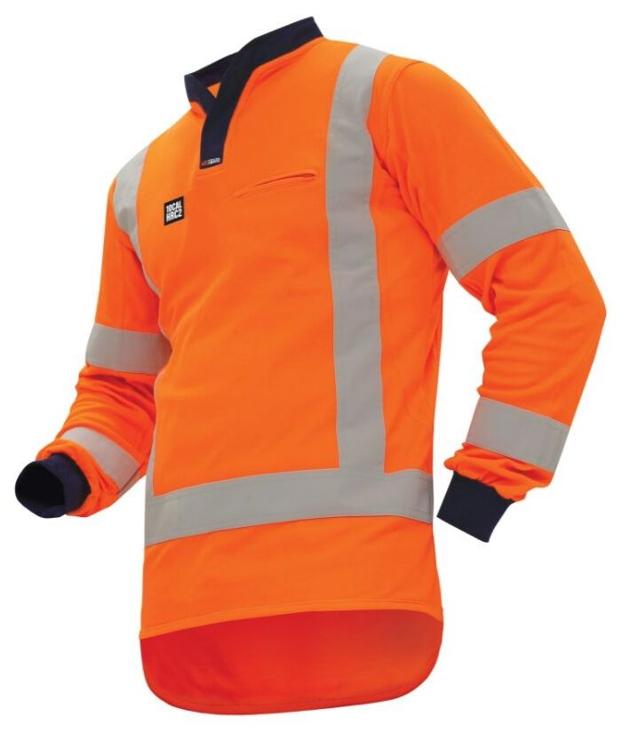 ttmc-fire-retardant-10cal-hi-vis-polo-long-sleeve-orange-navy