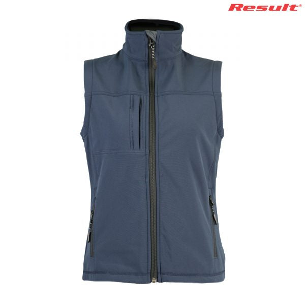 Ladies Classic Soft Shell Vest-r014f