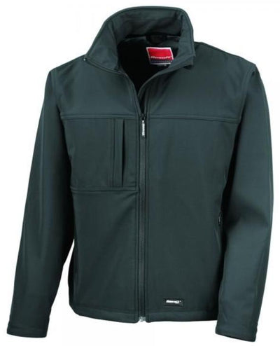 Mens Result Softshell Jacket R121X