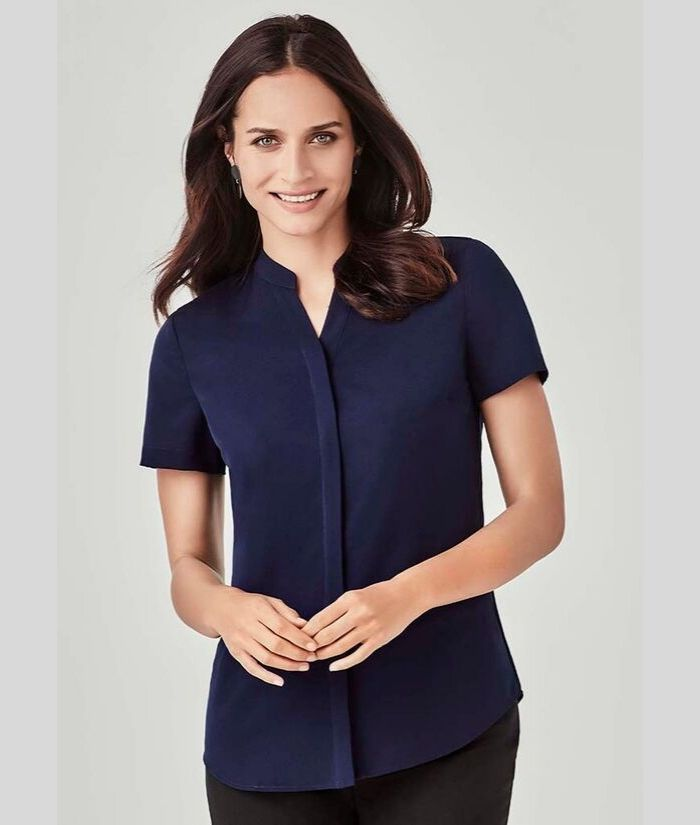 womans-ladies-uniform-work-blouse-shirt-biz-corporate