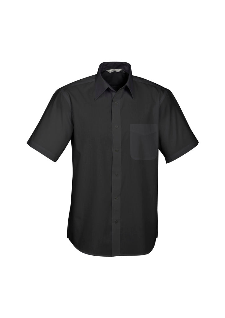 Mens Base Short Sleeve Shirt-s10512-