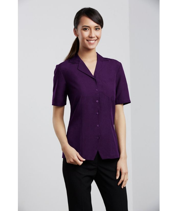 ladies-oasis-plain-short-sleeve-overblouse-s265ls