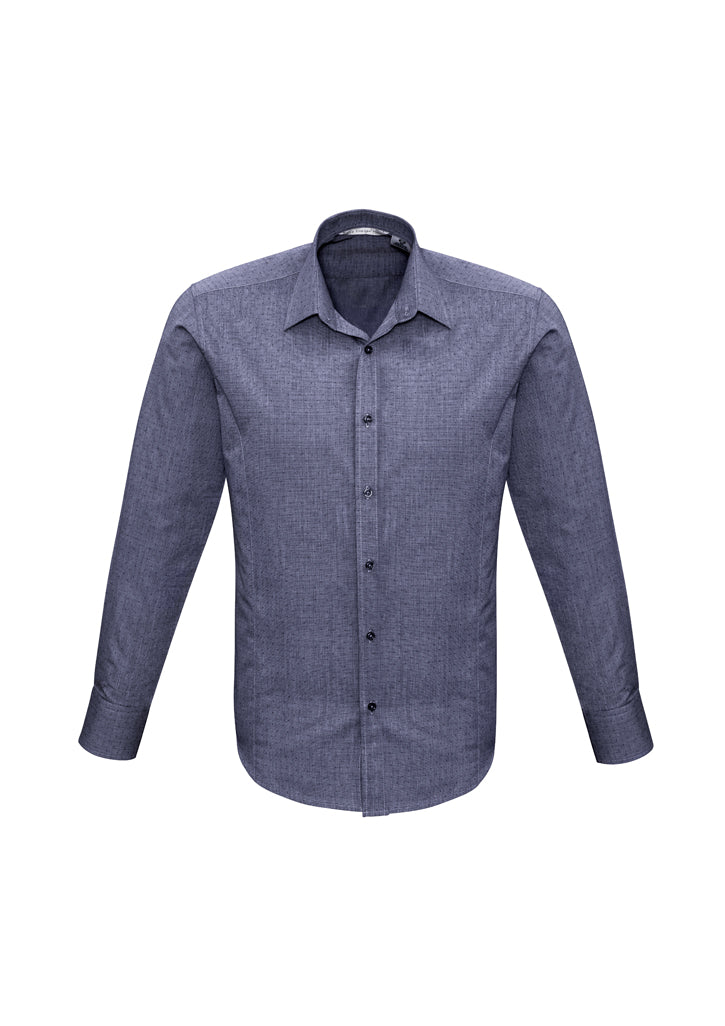 Mens Trend Long Sleeve Shirt-s622ml-biz-collection