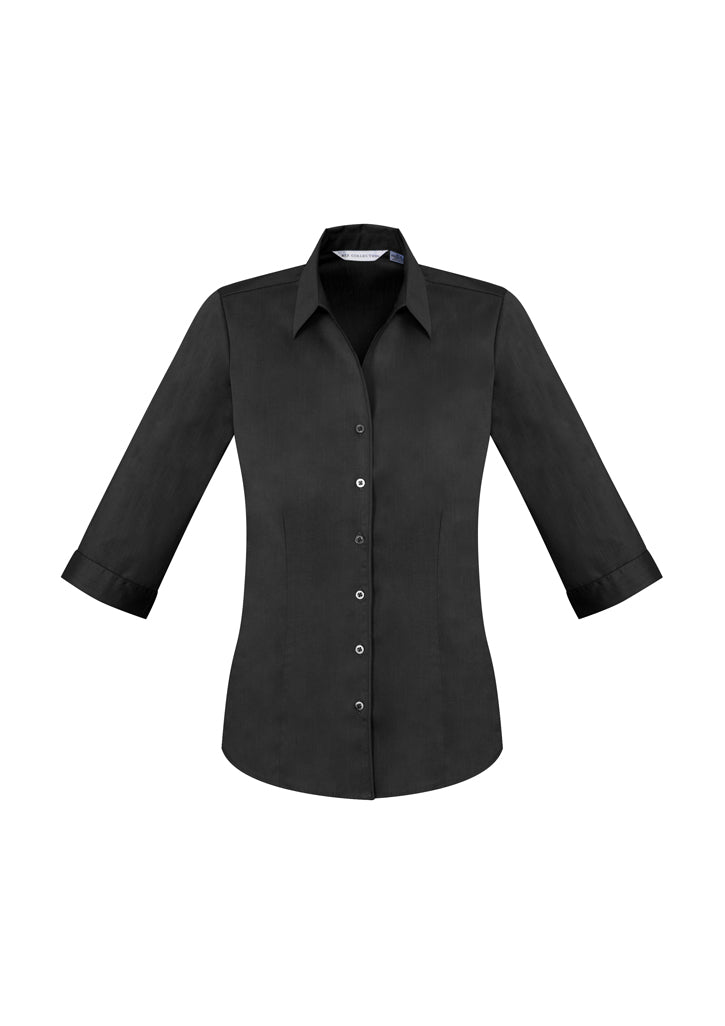 Ladies Monaco 3/4 Sleeve Shirt-s770lt-biz-collection