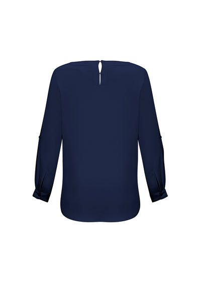 Ladies Madison Boatneck Blouse