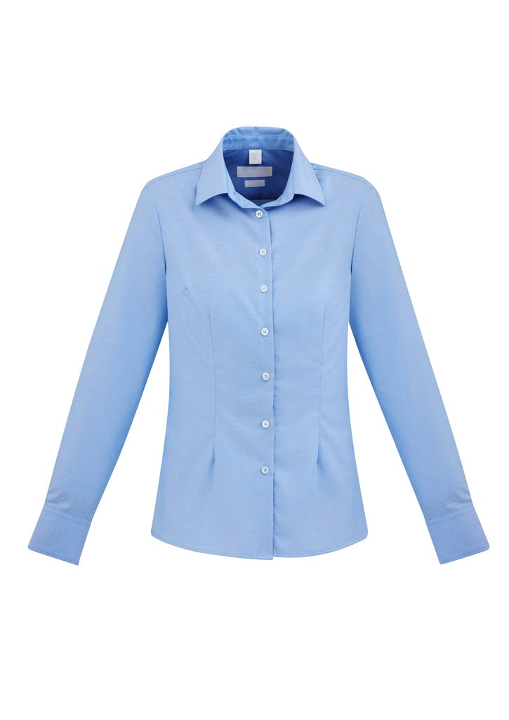 Ladies Regent 100% Cotton L/S Shirt