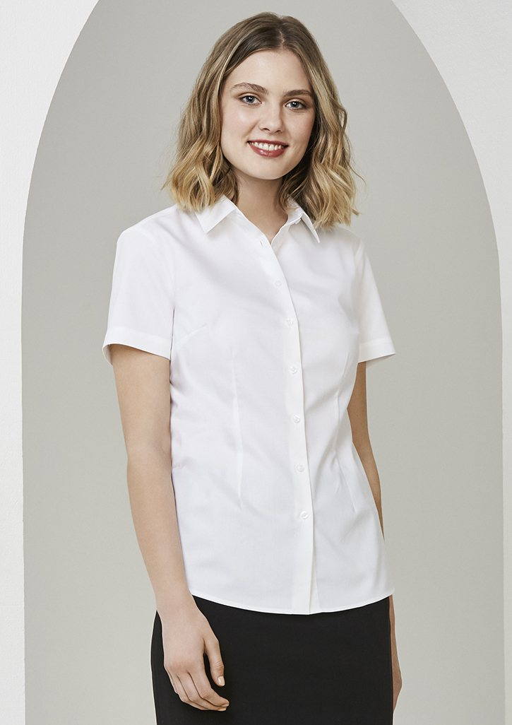Ladies Regent 100% Cotton S/S Shirt