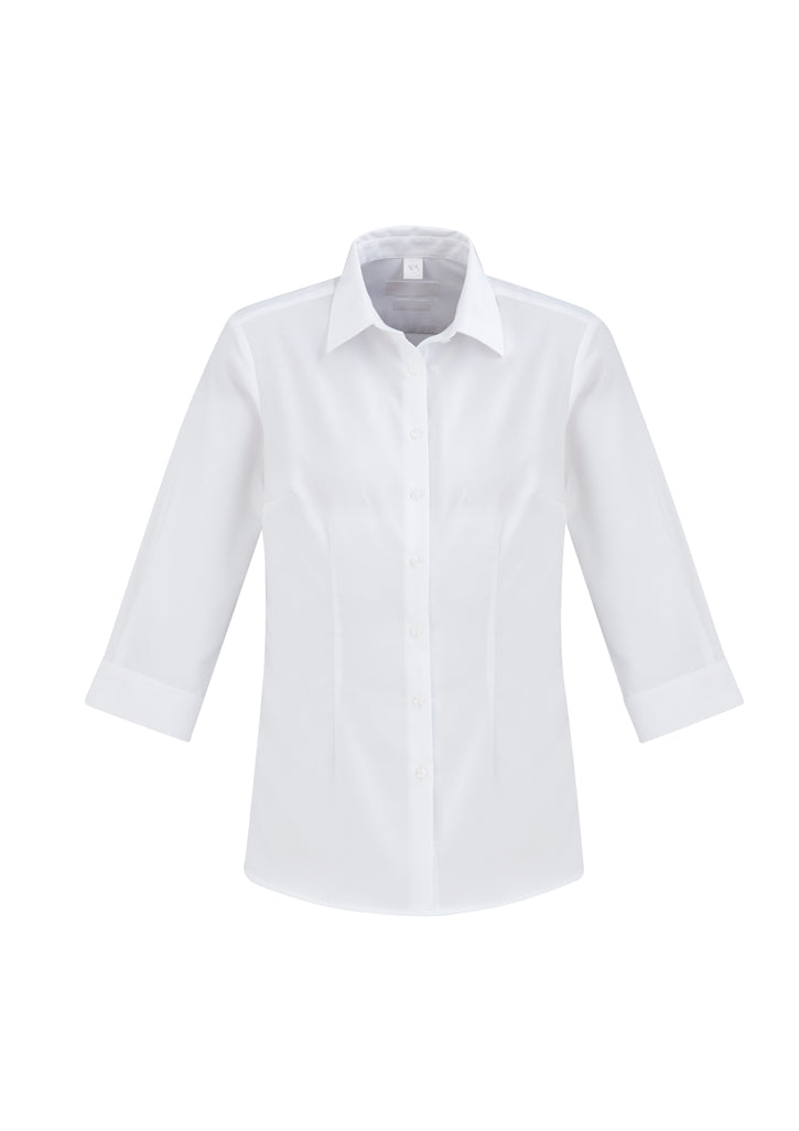 Ladies Regent 100% Cotton 3/4 Sleeve Shirt