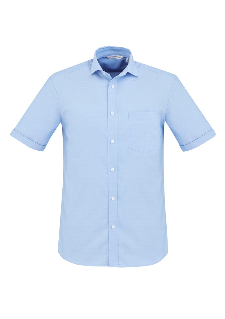 Mens Regent 100% Cotton S/S Shirt