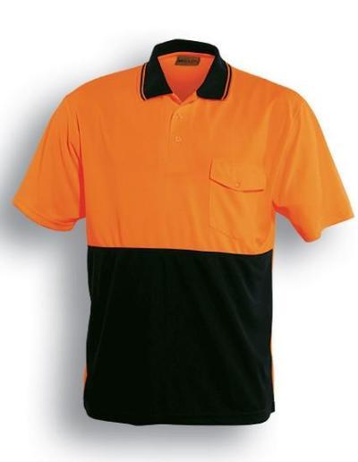 Hi Vis Safety Short Sleeve Polo-sp0427