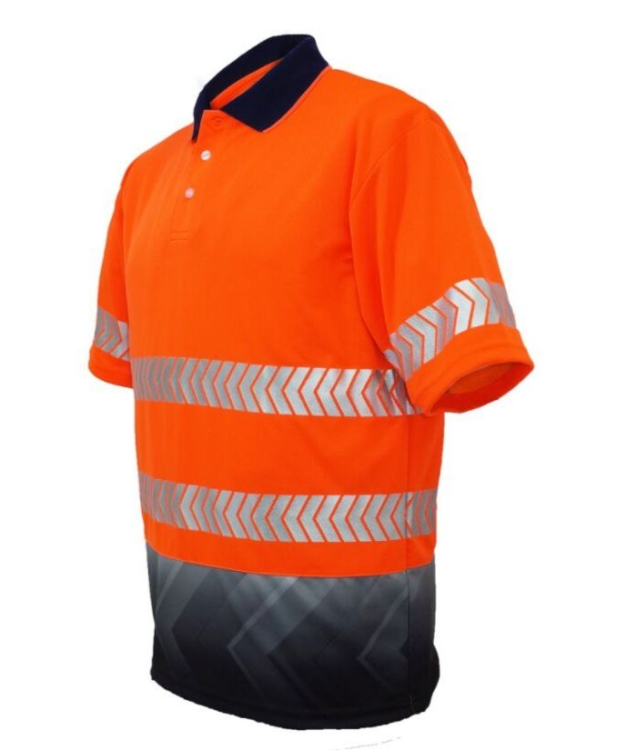 Hi Vis Sublimated Reflective Polo