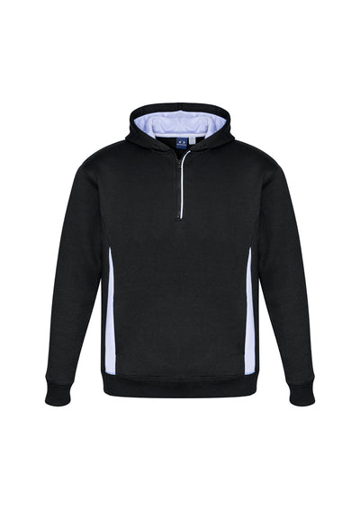 SW710M Adult Renegade Hoodie Black/White/Silver