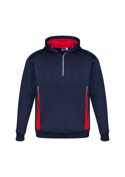 SW710M Adult Renegade Hoodie Navy/Red/Silver