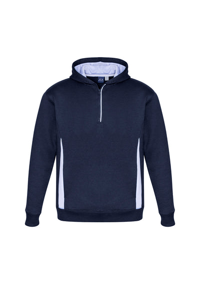 SW710M Adult Renegade Hoodie Navy/White/Silver