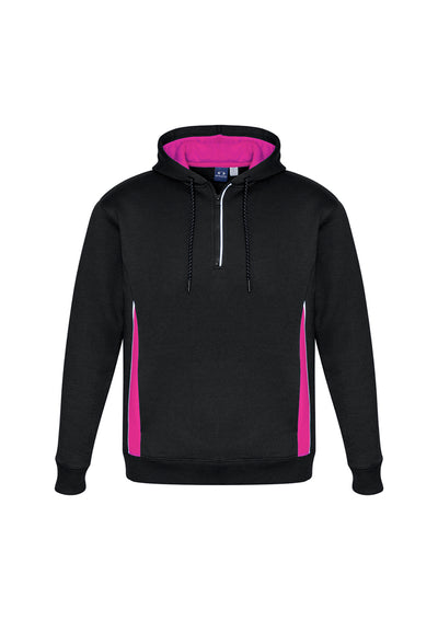 SW710M Adult Renegade Hoodie Black/Magenta/Silver Adults Only