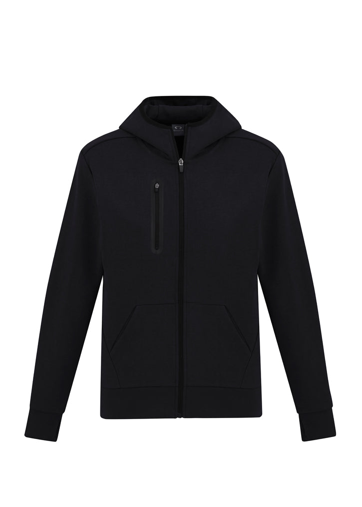 Mens Neo Hoodie-sw926M-biz-collection-grey-marle